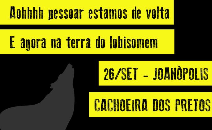 Joanópolis 26/set a retomada